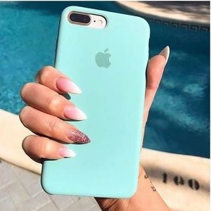 NEW! Mint Silicone iPhone Case
